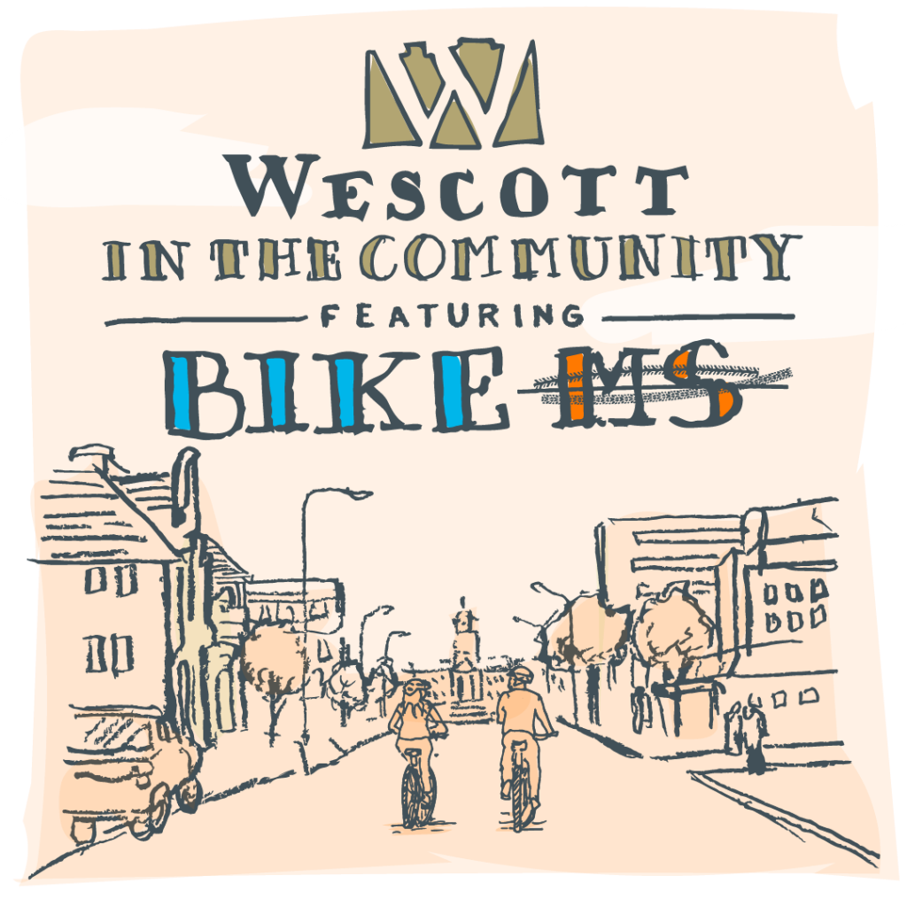Wescott in the Community:  Dan Wick on Biking to Erase MS