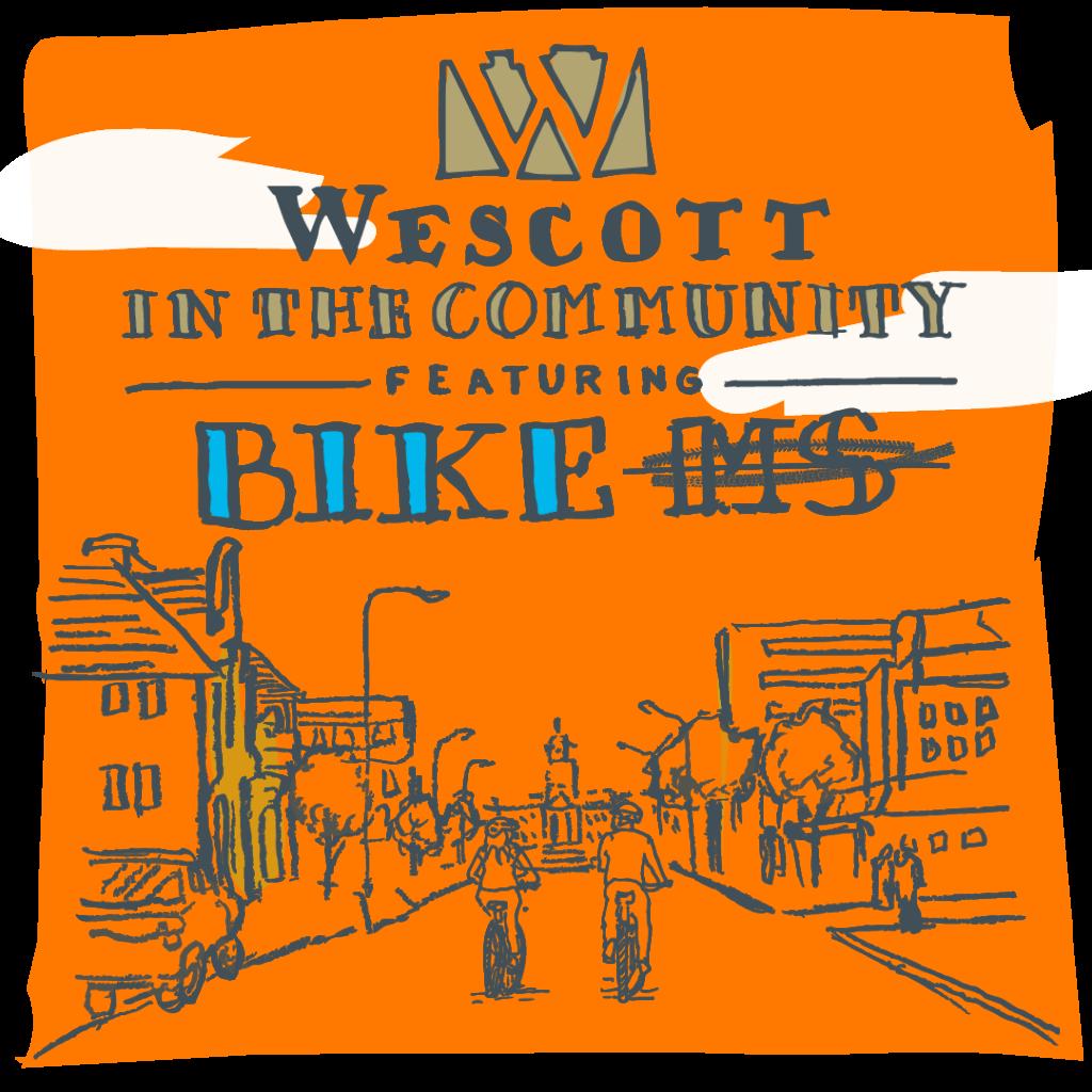 Wescott in the Community:  Dan Wick on Biking to Erase MS